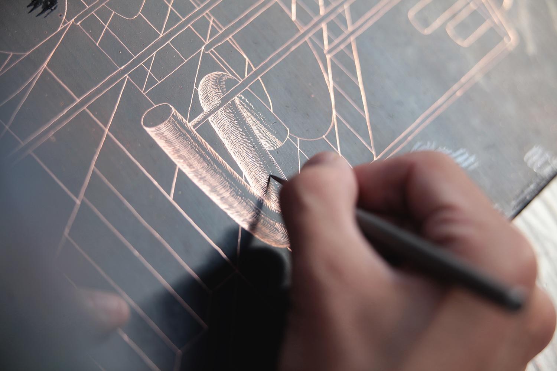 ugo-gattoni-sybille-bath-etching-eau-forte-gravure-edition-pointe-seche-cuivre-copper-taille-douce-sold-art-25