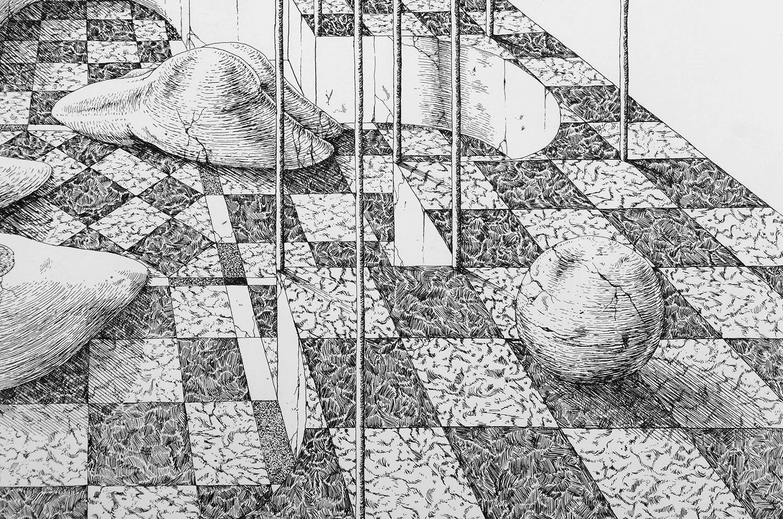 ugo-gattoni-sybille-bath-etching-eau-forte-gravure-edition-pointe-seche-cuivre-copper-taille-douce-sold-art-79