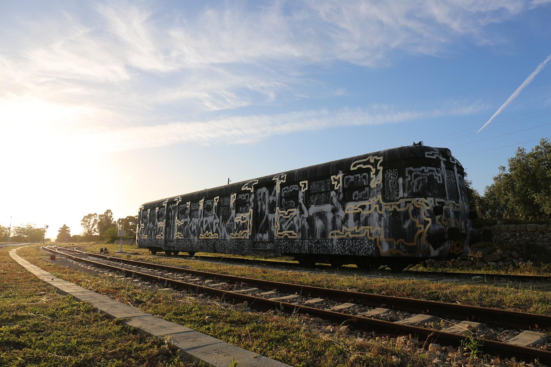 Lek & Sowat • A train named Desire • Gagliano Del Capo (Italy)