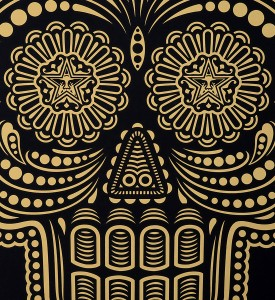Shepard Fairey Obey Ernesto Yerena Obey day of the dead screen print serigraphie signed numbered limited edition sold art online gallery sell buy art_3