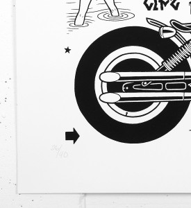 Mike Giant Low life screen print artwork serigraphie oeuvre d art illustration rebel8 giantone_4