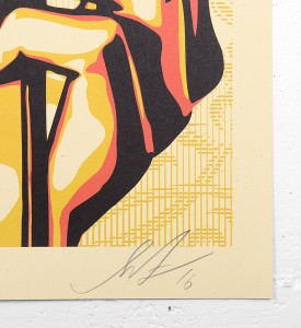 Shepard Fairey Obey Natural springs print offset signee sold art galerie art en ligne acheter vendre de l art_3