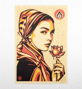 Shepard Fairey Obey Natural springs print offset signee sold art galerie art en ligne acheter vendre de l art_4
