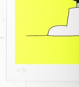 Grotesk Fisherfish screenprint serigraphie limited edition artwork Kimou Meyer numbered_2