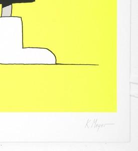 Grotesk Fisherfish serigraphie screen print limited edition artwork Kimou Meyer signature_3