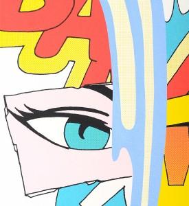 John Matos Crash Blue stroke screenprint serigraphie oeuvre d art artwork detail 2001 graffiti_4