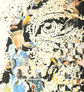 Vhils Alexandre Farto Contengency artwork print signed numbered underdogs edition aluminography enhanced detail_2