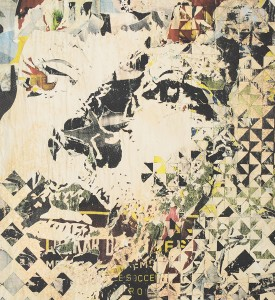 Vhils Alexandre Farto Deterioration artwork signed numbered underdogs aluminographie rehaussee detail_1