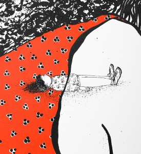 ella-et-pitr-heritage-serigraphie-oeuvre-edition-limitee-signee-numerotee-papiers-peintres-detail-dessin