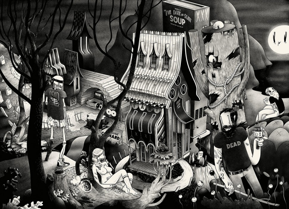 Mcbess-Matthieu-Bessudo-artist-illustrator-credit-photo-McbessDEADCITY-cream