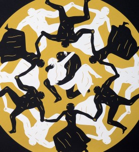 cleon-peterson-endless-sleep-black-screen-print-serigraphie-paris-tour-eiffel-dance-love-detail-1