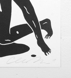 Cleon Peterson Evil oeuvre serigraphie print artiste signature