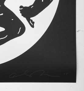 Cleon Peterson Destroying the Weak 2 screen print artwork serigraphie oeuvre signature signed