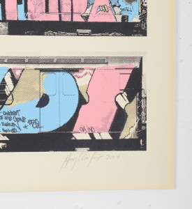 Henry Chalfant Lee Kell Futura Dondi artwork screen print oeuvre art serigraphie 2004 signature signed