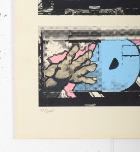 Henry Chalfant Lee Kell Futura Dondi artwork screen print oeuvre art serigraphie limited edition 200 numbered
