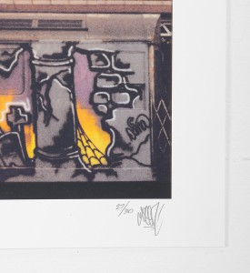 Seen Richard Mirando train 5 print photo artwork photography oeuvre art photographie limited edition 50 signed