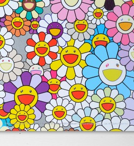 Takashi Murakami Flowers Blooming in the World and the Land of Nirvana 5 offset print artwork oeuvre detail 2