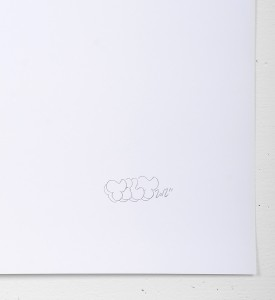 Tilt Closer To God In Heels screen print artwork serigraphie oeuvre signature 2012