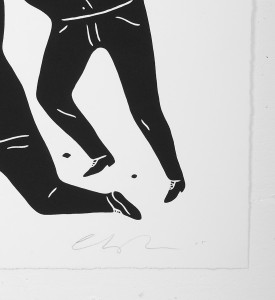 Cleon Peterson Civil rights black noir screen print artwork serigraphie oeuvre signature