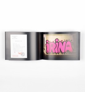 Andre Saraiva Love Graffiti photo book livre photography throw up Paris 2002 detail 2