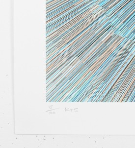 Kai-and-Sunny-Split-circle-screen-print-serigraphie-artwork-oeuvre-art-edition-100-signature-number