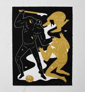 Cleon-Peterson-Violence-Print-Art-Black-Gold-3