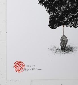 Ella-Pitr-Oeuvre-Art-Cailloux-Pierre-Serigraphie-Chaise-Saint-Etienne-2