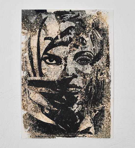 "Entitled ""Universal Personhood"", this enhanced screen print by Shepard Fairey (Obey) and Vhils is an edition of 150. Made in 2018, it is signed and numbered by the artists. Format : 27,5 x 19,6 inches (70 x 50 cm). The artwork is sold unframed. The artists has published a certificate of authenticity for this artwork."