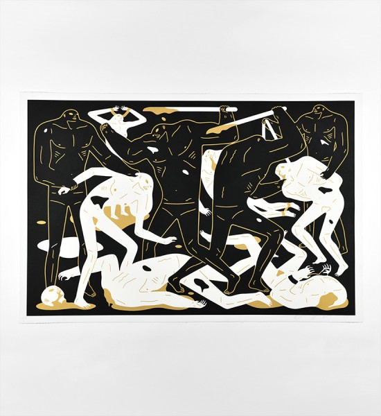 cleon-peterson-between-man-and-god-black-version-artwork-art-screen-print-150-limited-edition-2018