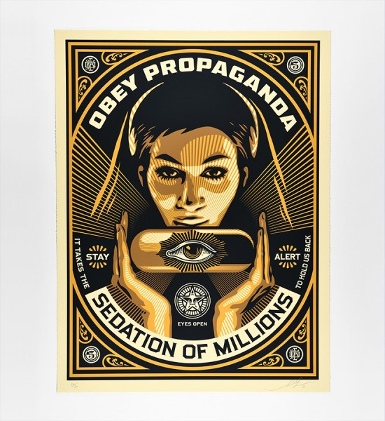 shepard-fairey-obey-giant-sedation-pill-large-format-artwork-art-screen-print-2013-limited-edition-50