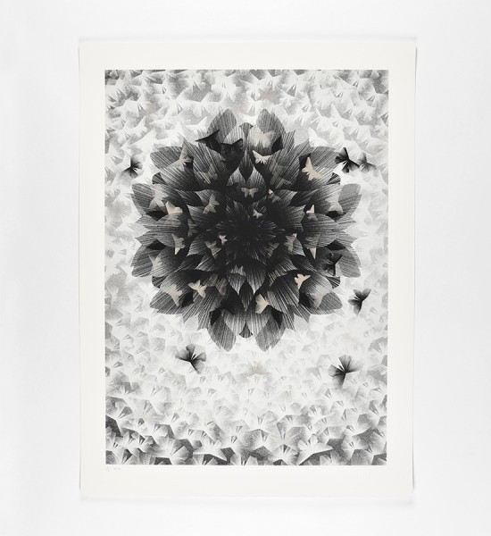 kai-and-sunny-just-an-illusion-2-silver-version-artwork-art-screen-print-2013-limited-edition-100