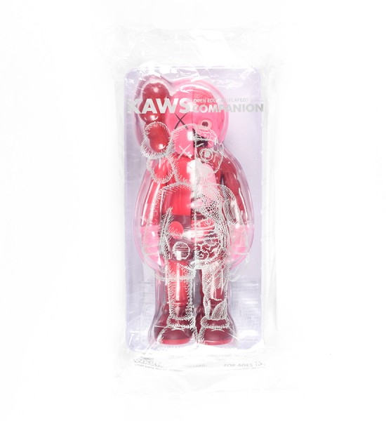 Kaws Brian Donnelly companion flayed red blush dissected open edition art toys figurine medicom toys plus