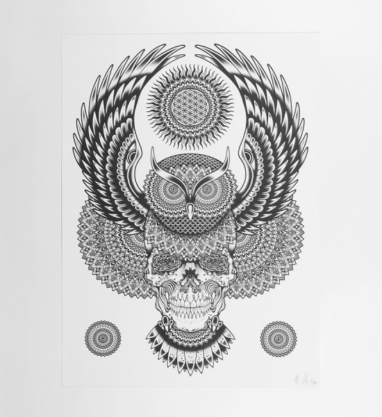 Tom-Gilmour-spirit and wisdom print-Art-Tattoo-3