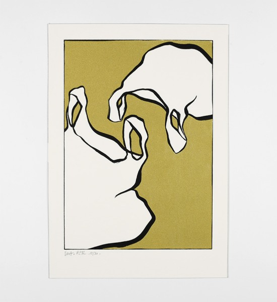 ella-et-pitr-papiers-peintres-parade-amoureuse-gold-version-artwork-oeuvre-art-2019-screen-print-serigraphie-limited-edition-30