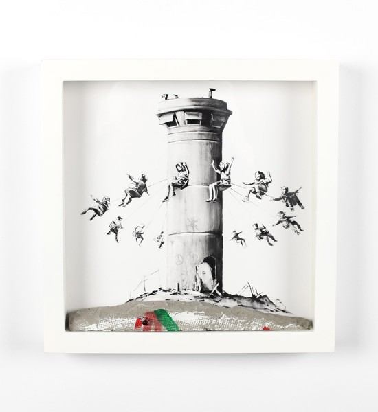 Banksy Walled-off-Hotel-Box-Set-artwork-oeuvre-art-2017-giclee-print-concrete-wall-edition