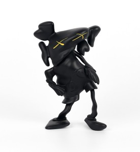 Kaws Brian Donnelly Robert Lazzarini companion black version limited edition art toys figurine medicom toys 2010
