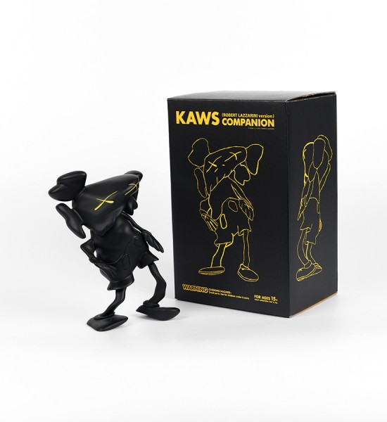 Kaws Brian Donnelly Robert Lazzarini companion black version limited edition art toys figurine medicom toys 2010 box