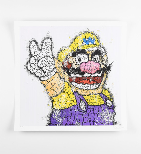 tilt-Cedric-Mailharrou-wario-oeuvre-art-artwork-2012-giclee-print-limited-edition-100