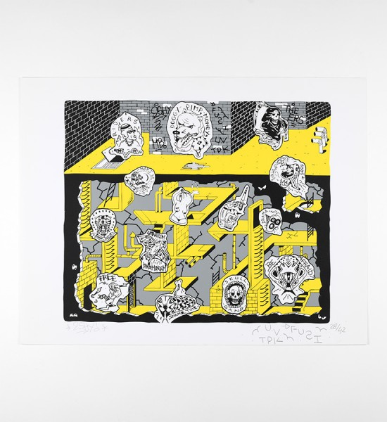 2shy-fuzy-mental-maze-artwork-art-screen-print-2016-edition-150