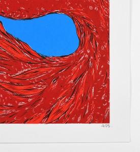 Ella-Pitr-serigraphie-oeuvre-OISEAUX-DE-PRINTEMPS-BLEU-art-2