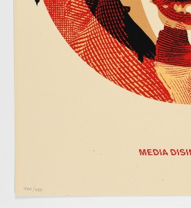 Shepard-Fairey-OBEY-media-target-disintegration-Screen-print-Numbered-Edition