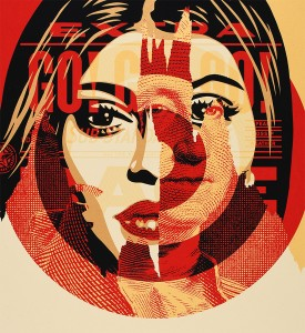 Shepard-Fairey-OBEY-media-target-disintegration-Screen-print-Numbered-Edition-3