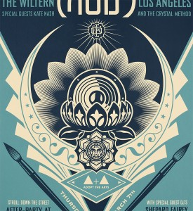 Shepard-Fairey-Obey-Giant-Adopt-the-Arts-Moby-Charity-Show-Lotus-Screen-Print-2019-2