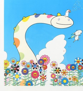 Takashi-Murakami-Planet-66-Yoshiko-Creatures-Planet-66-Roppongi-Hills-Poster-2004-Offset-lithograph