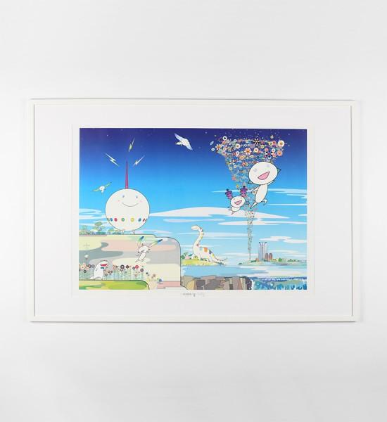Takashi-Murakami-Planet-66-Yoshiko-Creatures-Planet-66-Roppongi-Hills-Poster-2004-Offset-lithograph-9