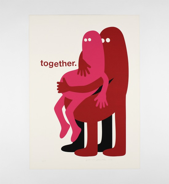 genevieve-gauckler-together-artwork-art-screen-print-2009-edition-25