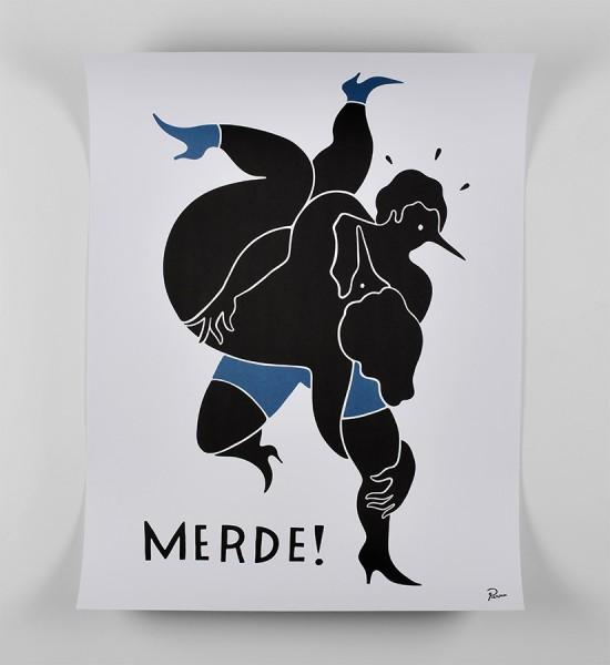 Parra-Piet-Janssen-merde-poster-byparra.com-offset-print-artwork-oeuvre-art