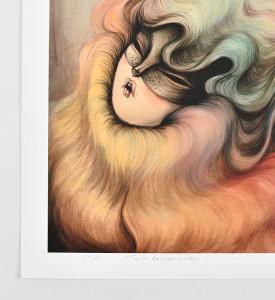 Miss-Van-Twin-Rainbow-Hair-print-signed-art-edition