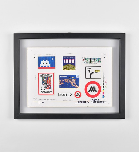 invader-franck-slama-signed-stickers-screen-print-2011-serigraphie-art-oeuvre