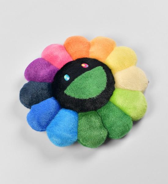 takashi-murakami-flower-cushion-rainbow-black-plush-figures-art-2